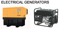 Electrical generators from Artis Trading