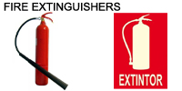 Fire extinguishers from Artis Trading